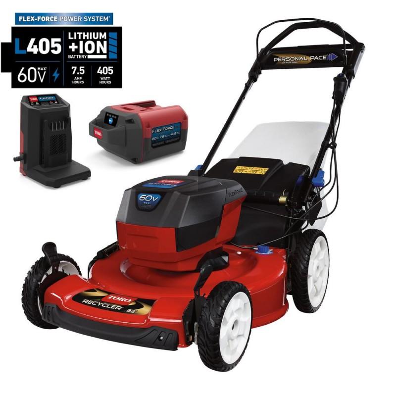 tondeuse toro auto tract e batterie 60v major mini moteur. Black Bedroom Furniture Sets. Home Design Ideas